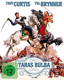 Taras Bulba (Limited Mediabook, Blu-ray+DVD, Cover A) (1962) [Blu-ray]