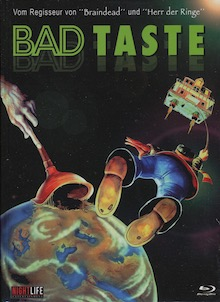 Bad Taste (5 Disc Limited Mediabook, Cover B) (1987) [FSK 18] [Blu-ray]
