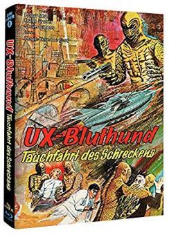 UX-Bluthund - Tauchfahrt des Schreckens (Limited Mediabook, Cover C) (1966) [Blu-ray]