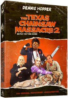 The Texas Chainsaw Massacre 2 (DVD+Blu-ray, Limitiertes Digipak) (1986) [FSK 18]