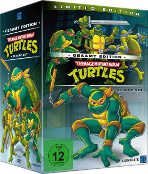 Teenage Mutant Ninja Turtles - Gesamtedition (22 Discs) (1987)
