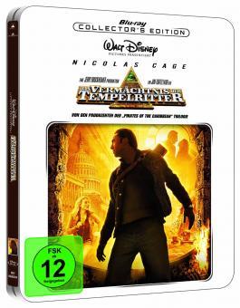 Das Vermächtnis der Tempelritter (Steelbook) (2004) [Blu-ray]