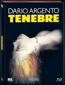 Tenebre (Limited Mediabook, Blu-ray+DVD) (1982) [FSK 18] [Blu-ray]