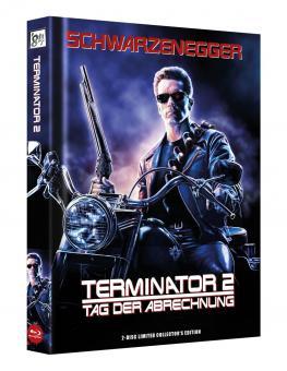 Terminator 2 (Limited Wattiertes Mediabook, Blu-ray+DVD) (1991) [Blu-ray]