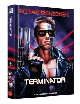 Terminator (Limited Wattiertes Mediabook, Blu-ray+DVD) (1984) [Blu-ray]