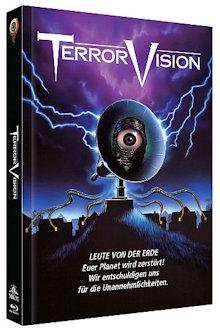 Terror Vision (Limited Mediabook, Blu-ray+DVD, Cover A) (1986) [FSK 18] [Blu-ray]