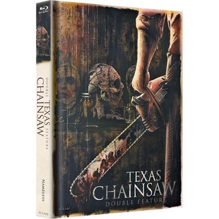 Texas Chainsaw Double Feature (Limited Mediabook) [FSK 18] [Blu-ray]