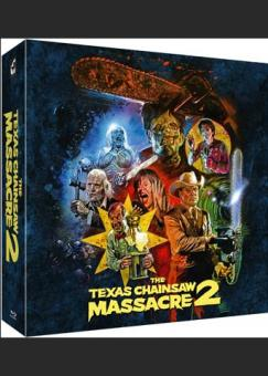 The Texas Chainsaw Massacre 2 (2 Discs, Limited Collector's Box) (1986) [FSK 18] [Blu-ray]