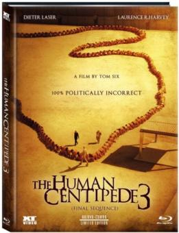 The Human Centipede 3 - Final Sequence (Limited Mediabook, Blu-ray+DVD, Cover A) (2015) [FSK 18] [Blu-ray]