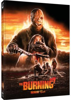 The Burning - Brennende Rache (Limited Mediabook, Blu-ray+DVD, Cover D) (1981) [FSK 18] [Blu-ray]