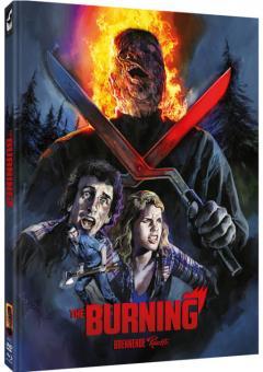 The Burning - Brennende Rache (Limited Mediabook, Blu-ray+DVD, Cover E) (1981) [FSK 18] [Blu-ray]