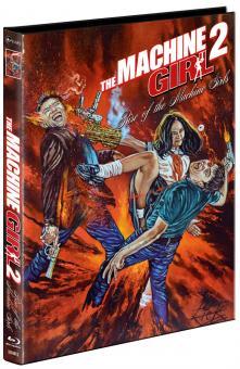 The Machine Girl 2 - Rise of the Machine Girls (Limited Mediabook, Blu-ray+DVD, Cover B) (2019) [FSK 18] [Blu-ray]