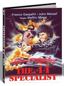 Mark Colpisce Ancora (The .44 Specialist) (Limited Mediabook, Cover C) (1976) [FSK 18] [Blu-ray]