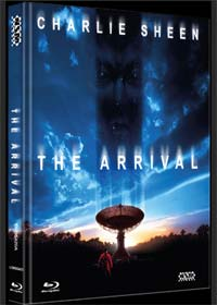 The Arrival (Limited Mediabook, Blu-ray+DVD, Cover A) (1996) [Blu-ray]