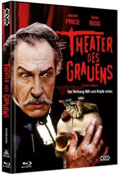 Theater des Grauens (Limited Mediabook, Blu-ray+DVD, Cover A) (1973) [Blu-ray]