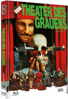 Theater des Grauens (Limited Mediabook, Blu-ray+DVD, Cover B) (1973) [Blu-ray]