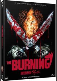 The Burning - Brennende Rache (Limited Mediabook, Blu-ray+DVD, Cover A) (1981) [FSK 18] [Blu-ray]