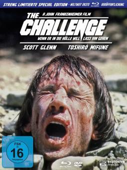 Wenn er in die Hölle will, lass ihn gehen - The Challenge (Limited Digipak, Blu-ray+DVD) (1982) [Blu-ray]