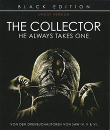 The Collector - He Always Takes One (Black Edition, Uncut) (2009) [FSK 18] [Blu-ray]