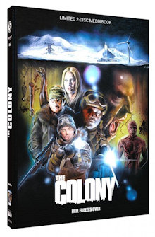 The Colony - Hell Freezes Over (Limited Mediabook, Blu-ray+DVD, Cover A) (2013) [FSK 18] [Blu-ray]