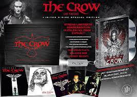 The Crow - Die Krähe (Limited Mediabook in Holzbox, Blu-ray+DVD+Soundtrack) (1994) [FSK 18] [Blu-ray]