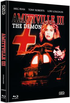 Amityville Horror 3 (Limited Mediabook, Blu-ray+DVD, Cover D) (1983) [FSK 18] [Blu-ray]