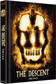 The Descent 1+2 (Limited Mediabook, 2 Discs) [FSK 18] [Blu-ray]
