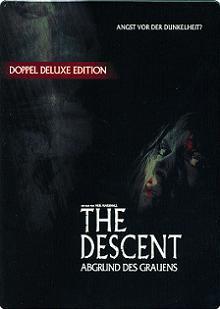 The Descent - Abgrund des Grauens (Deluxe Edition, 2 DVDs Steelbook) (2005) [FSK 18]