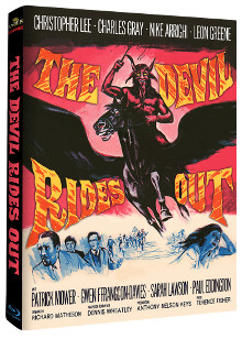 The Devil Rides Out (Limited Mediabook, 2 Discs, Cover A) (1968) [Blu-ray]