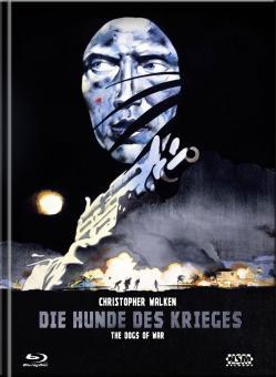 Die Hunde des Krieges (Limited Mediabook, Blu-ray+DVD, Cover B) (1980) [Blu-ray]