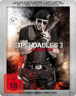 The Expendables 3 - A Man's Job - Extended Director's Cut - (Limited Steelbook) [FSK 18] [Blu-ray]