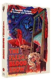 The Flesh & Blood Show (Limited Mediabook, Blu-ray+DVD, Cover A) (1972) [FSK 18] [Blu-ray]