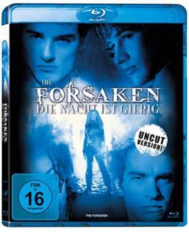 The Forsaken - Die Nacht ist gierig (Uncut) (2001) [Blu-ray]
