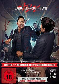 The Gangster, The Cop, The Devil (Limited Mediabook, 2 Discs) (2019) [FSK 18] [Blu-ray]