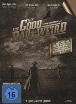 The Good, the Bad, the Weird (+ Audio-CD, Mediabook, Limited Edition) (3 DVDs) (2008)