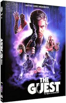 The Guest (Limited Mediabook, Blu-ray+DVD, Cover A) (2014) [FSK 18] [Blu-ray]