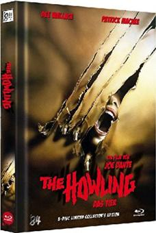 The Howling - Das Tier (3 Disc Limited Mediabook, Blu-ray+DVD, Cover A) (1981) [Blu-ray]