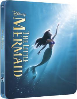 Arielle, die Meerjungfrau (Limited Steelbook Edition) (1989) [UK Import] [Blu-ray]