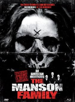 The Manson Family (3 Disc Limited Mediabook Edition, Blu-ray+DVD) (2003) [FSK 18] [Blu-ray]