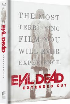 Evil Dead (Limited Mediabook, Extended Cut, 2 Discs, Cover C) (2013) [FSK 18] [Blu-ray]