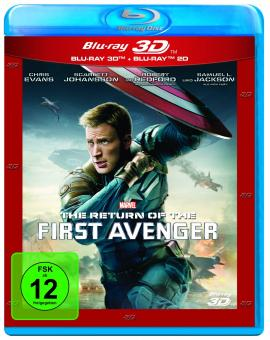 Captain America: The Winter Soldier/The Return of the First Avenger (3D Blu-ray+Blu-ray) (2014) [3D Blu-ray]