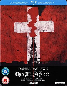 There Will Be Blood (Limited Steelbook) (2007) [UK Import mit dt. Ton] [Blu-ray]