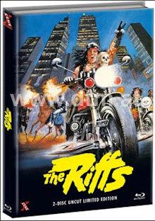 The Riffs - Die Gewalt sind wir (Limited Mediabook, Blu-ray+DVD, Cover A) (1982) [FSK 18] [Blu-ray]