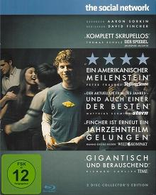 The Social Network (2-Disc Collector's Edition im limited Digipak) (2010) [Blu-ray]