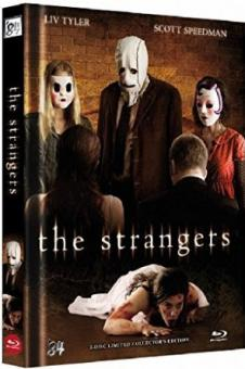 The Strangers (Unrated Limited Mediabook, Blu-ray+DVD, Cover B) (2008) [FSK 18] [Blu-ray]