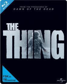 The Thing - Steelbook (2011) [Blu-ray]