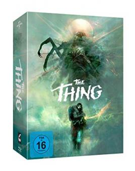 The Thing - Das Ding aus einer anderen Welt (Deluxe Edition, 3 Blu-ray's+CD, Modern) (1981) [Blu-ray]