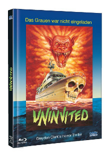 Uninvited (Limited Mediabook, Blu-ray+DVD, Cover A) (1988) [FSK 18] [Blu-ray]