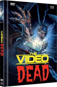 The Video Dead (Limited Mediabook, Blu-ray+DVD, Cover A) (1987) [FSK 18] [Blu-ray]