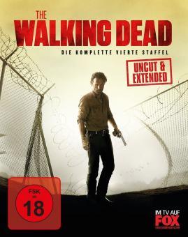 The Walking Dead - Die komplette vierte Staffel (Uncut, Extended Version) [FSK 18] [Blu-ray]